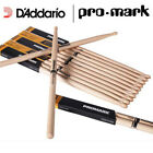 Pro-Mark Millennium II Hickory Wooden Tipped 5A Medium or 5B Large Drum Sticks