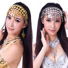 HOT Stylish Belly Dance Costume Dancing Hair Band Headbands Coin Sequins