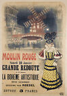 Vintage Moulin Rouge French  print poster, large 4 sizes available