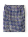 Boden British Tweed mini blue & white made with quality Moon wool Various Sizes