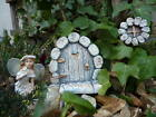 New Handcrafted Secret Garden Fairy Door & Window Wall Hanging Garden Gift