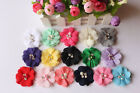Wholesale 10x DIY Chiffon Flowers Embellishments Craft for Headband Hair Clips