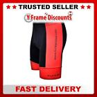 Funkier Gents 11 Panel (7 Sublimation) Sport Cycling Shorts in Black / Red