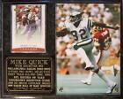 Mike Quick #82 Philadelphia Eagles Legend Photo Card Plaque Eagles Hall of Fame