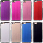 For Apple iPhone 6 (4.7) Brushed Aluminum Metal Hard Back Case Cover Colorful