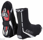 BBB HEAVY DUTY OVERSHOE COVERS BWS02B BLACK FOR ROAD BIKE& MTB WITH VELCO STRAP