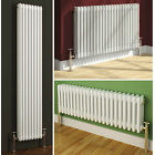 TRADITIONAL WHITE TRIPLE COLUMN HORIZONTAL OR VERTICAL COLOSSEUM RADIATOR HEATER