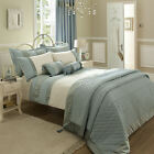 Catherine Lansfield Classique Duck Egg Green Chic Duvet Quilt Cover Bedding Set