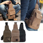 Mens Military Canvas Casual Travel Sport Message Shoulder Bodycross Backpack Bag