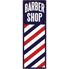 Barber Shop Stick Distressed Wall Decal Vintage Style Wall Decor