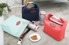 Style Thermal Insulated Carry Picnic Bag shower proof Lunch Store Pouch Fad JRAU