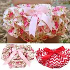 Cute Baby Girls Toddlers Ruffle PP Pants Bloomers Nappy Cover Pantskirt Pants