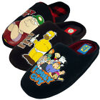 Mens Family Guy The Simpsons Slipper Classic Novelty Mule Mules Slippers