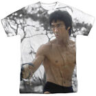 Bruce Lee Battle Ready Licensed Sublimation Poly Adult Shirt S-3XL