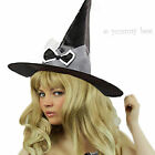 Witch Hat Halloween Pointed Ladies Girls Fancy Dress Outfit Costume Gothic