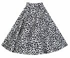 NEW LINDY BOP CLASSIC VINTAGE FIFTIES STYLE PRINT FULL CIRCLE SKIRT