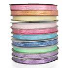 """5yards 3/8"""" 5/8"""" chevron printed grosgrain ribbon for hairbow halloween party ho"""