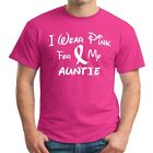 I Wear Pink For My AUNTIE  Breast Cancer Awareness T Shirt