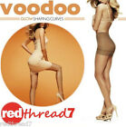 Voodoo New Sexy Glow Shaping Curves Sheer Stockings Pantyhose Size Ave Tall X
