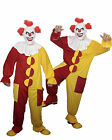 IT Scary Clown Outfit Costume Halloween Fancy Dress (Mask Not Included)