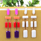 Hot Woman Crystal Oil Painting Earring Bead Fashion Jewelry Gift Pendant Dangle