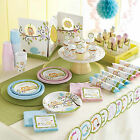 Baby Shower Christening Happi Tree Boys Girls Deluxe Party Kit for 8 to 40