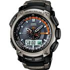 CASIO MEN'S PRO TREK WAVE CEPTOR CHRONOGRAPH ALARM WATCH - PRW-5000-1ER