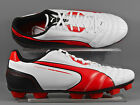Puma (102698-04) Universal R HG adults football boots - White/Red/Black
