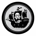 Pirate Boys Birthday Party Plates, 8, 16, 24, 32  & 40 Guests! FAST FREE POSTAGE