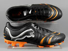 Puma (101917-09) Powercat 4.10 FG adults football boots - Black/Orange