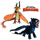 How to Train Your Dragon Plush Toy Toothless & Monstrous Nightmare Cool Dragon