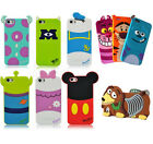 New Cute Soft Cartoon Silicone Back Case Cover Skin For Apple iPhone 6 & 6 Plus