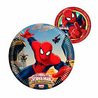 Spiderman Superhero Boys Birthday Party Plates 8-42 Guests!! Large/Lunch Plate