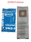 Panasonic U U-3 U-6 MC-V145M Vacuum Bag Riccar Simplicity Bernina Fuller Brush