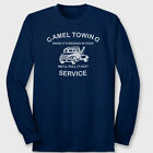 Camel Towing Service Crude Truck Drivers T-Shirt Funny Humor Long Sleeve Tee