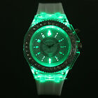 Women's LED Rhinestone Dial Amazing Silicone Band Quartz Wrist Watch Brand New