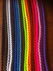 Large Dog Show Leads Clip 40 inches Braided Paracord Very Strong