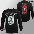 Authentic DEVILDRIVER Band Winter Kills Long Sleeve Shirt S M L XL XXL NEW
