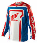 NEW 2014 TROY LEE DESIGNS GP AIR HONDA MX DIRTBIKE JERSEY BLUE/ RED ALL SIZES