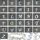 Cheap 26 letters Initials Silver Tone Crystal Pendant Necklace Crystal Leather