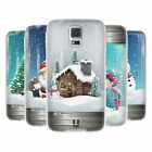 HEAD CASE CHRISTMAS IN JARS GEL BACK CASE COVER FOR SAMSUNG GALAXY S5