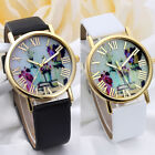 Women Fashion Vases Dial Leather Band Quartz Analog Wrist Watches Cheap
