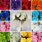 42 pcs Silk PEONY High Quality Peonies Flowers Wedding Bouquets Centerpieces