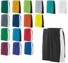 MEN'S MOISTURE RESISTANT SHORTS, DRAWSTRING WAIST, ATHLETIC SPORT S M L XL 2X 3X