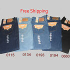 Levis 501 Jeans Mens Original Jeans - Preshrunk - All Colors NWT - NEW