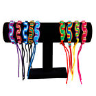 bulk 9x WOVEN FRIENDSHIP BRACELET Surfer Wristband Anklets Hippy - choose styles