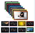 "Multi-Color 7"" Inch Android 4.2 Dual Core A23 8GB with Stylus Cameras Tablet PC"