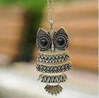 10PCS Japan and South Korea Style Fashion Owl Sweater Chains Necklace, JW61