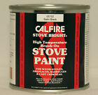 Brush On Stove Paint - Stove Bright - Fire Paint Matt - Satin or Metallic BLACK