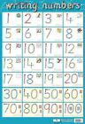 New Writing Numbers Children's Spelling Mini Poster